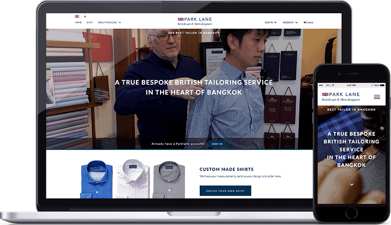 website-design-tailor-bangkok