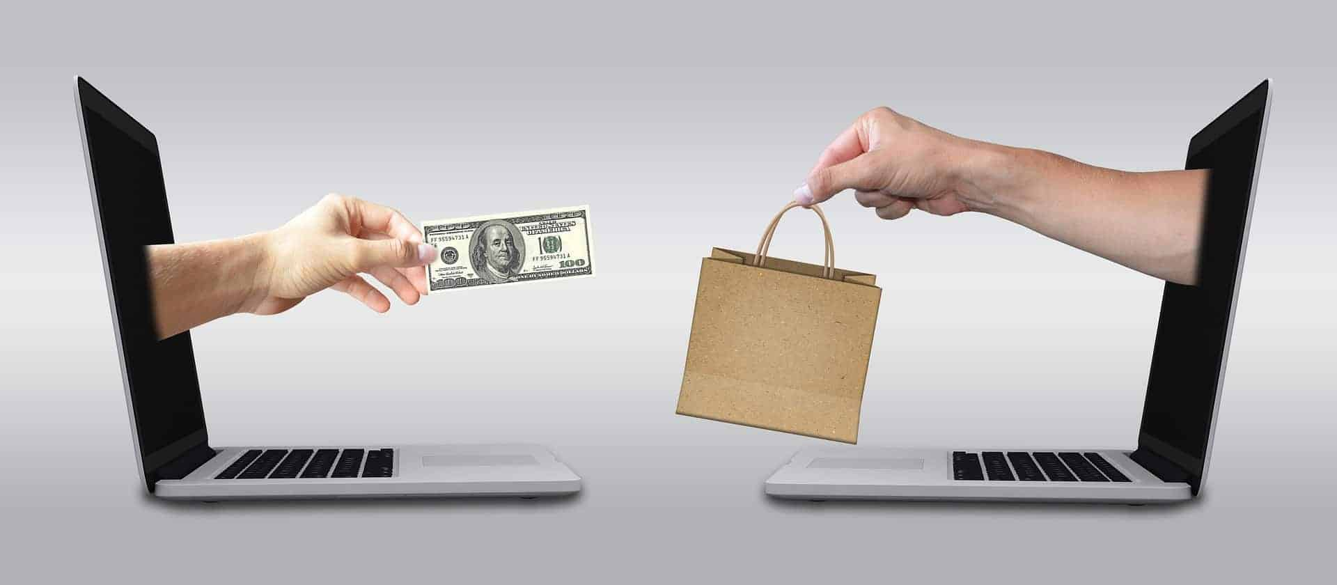 ecommerce site making sales