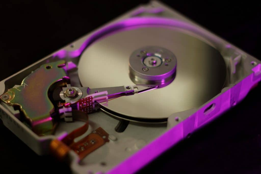 hard disc back up