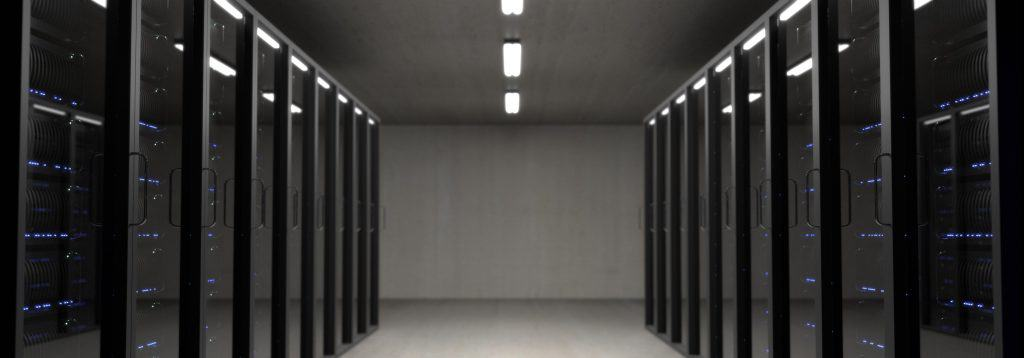 interior of web server building